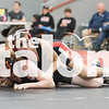 JV and Varsity wrestlers compete in the Springtown/Richland wrestling match at Argyle High School in Argyle, Texas, on January 23, 2019. (Jacob Lormand / The Talon News)