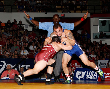 Iowa Wrestling at 2014 World Team Trials