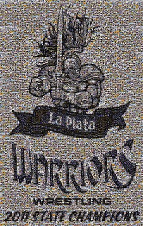 La Plata Warriors-Wrestling Mosaic