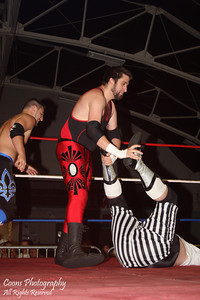 NEFW 5/21/11 - Diego Ortiz & Captain Argyle vs Ian Griffin & Zachary Pierre Beaulieu