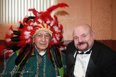 New England Pro Wrestling Hall of Fame Fanfest 2011 - Chief Jay Strongbow & Howard Finkel