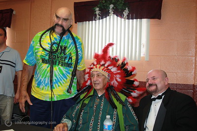 New England Pro Wrestling Hall of Fame Fanfest 2011 - Ox Baker, Chief Jay Strongbow, Howard Finkel