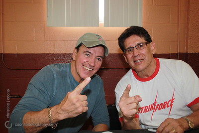 New England Pro Wrestling Hall of Fame Fanfest 2011 - Rick Martel & Tito Santana