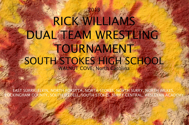 RICK WILLIAMS DUEL TOURNAMENT, South Stokes 2013 (5x7) FORMAT