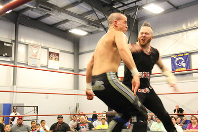 Jeremy Leary vs J Freddie at Revival Pro Wrestling Cowabunga Combat