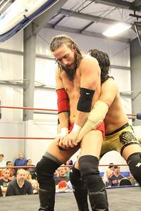 JT Dunn vs Anthony Gangone at Revival Pro Wrestling Cowabunga Combat