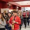 The Argyle Eagles Wrestling team head out to Houston, Texas for the state wrestling tournament at Argyle High School on Feb. 20, 2020. (Ryan Mackereth | The Talon News)