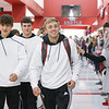 The Argyle Eagles Wrestling team head out to Houston, Texas for the state wrestling tournament at Argyle High School on Feb. 20, 2020. (Halle Malpass | The Talon News)
