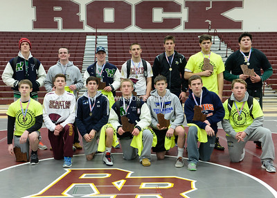 Wrestling: 2014 Loudoun County Championships 12.20.14