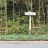 Chester Cross 1 Mile Post: Wrexham Road