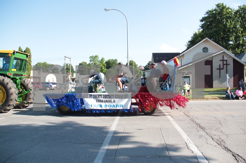 Fair Board float