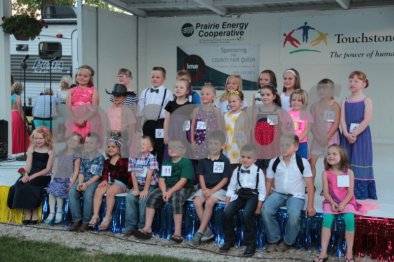 Little Miss and Mister contestants