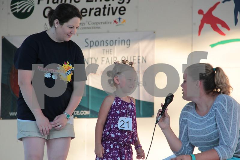 Little Miss contestant