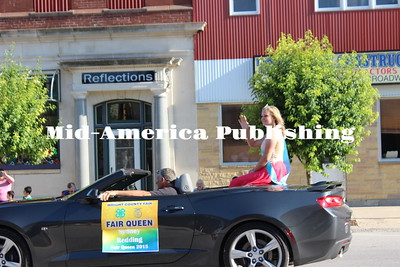 Wright County 2016 Fair parade
