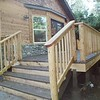 "Thomas deck with pole framed railing  <a href=""http://www.wrightbuilt.biz"">http://www.wrightbuilt.biz</a>"
