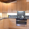"""Reeded glass and shaker cabinets compliment the Scandinavian  styling of the home.<br /> <br />  <a href=""""http://www.wrightbuilt.biz"""">http://www.wrightbuilt.biz</a>"""