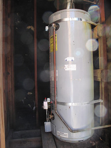 water heater tower