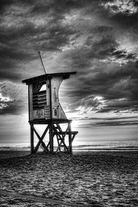 Black & white photography at Wrightsville beach
