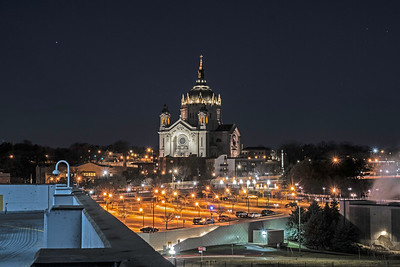 St Paul Cathedral From St Joes