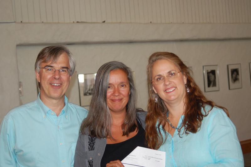 Writers Workshop - 2007<br /> Michael Carlisle, Lisa Alvarez and Brett Hall Jones