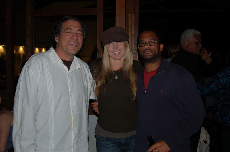 Writers Workshop - 2009<br /> Dagoberto Gilb, Stacy Knapp and a screenwriting participant