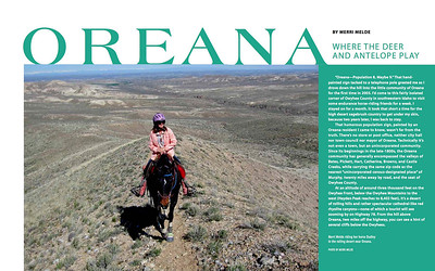 Idaho Magazine: Oreana: Where the Deer and Antelope Play