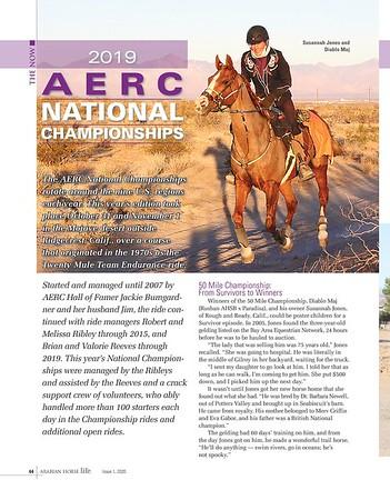 2019 AERC National Championships