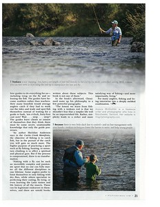 Fly Fisherman magazine, 2014.