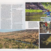 Travel feature in American Angler Magazine on multi-day SUP bass fishing trip on Oregon's John Day River.<br /> <br /> March / April 2018.