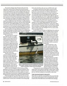 Investigative feature, American Angler, March 2014.