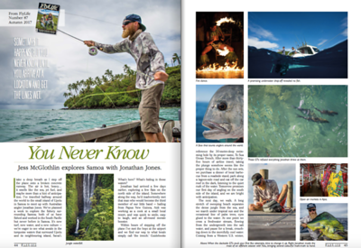 Flylife Magazine Australia, Samoa feature.  Images + words. March 2017.