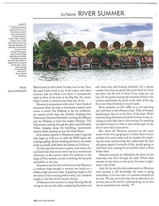 The Fly Fish Journal, summer 2015.