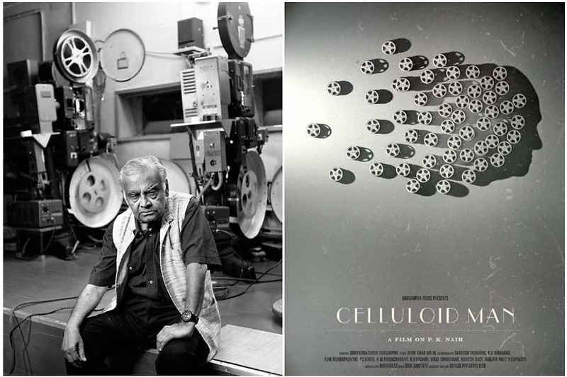 """""""Celluloid Man"""" (2012):  A Film On P.K. Nair Who Almost Single-Handedly Preserved India's Cinema Heritage"""