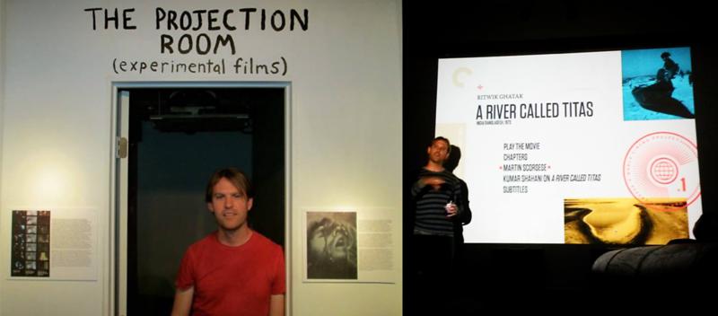 Steve Elkins Presenting At The Hibbleton Film Series