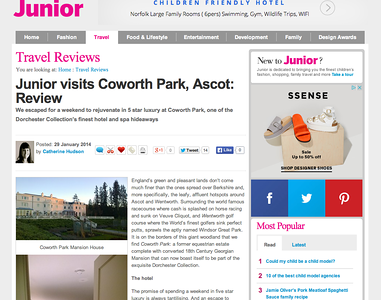 Coworth Park, Ascot, UK - Dorchester Collection