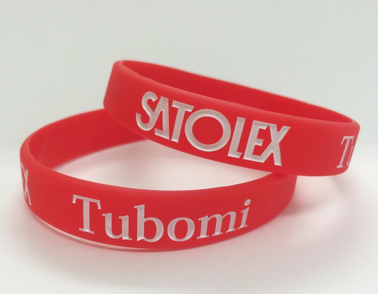 SATOLEX Tubomiデボス加工リストバンド