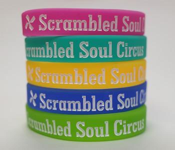 Scrambled Soul Circusデボス加工リストバンド