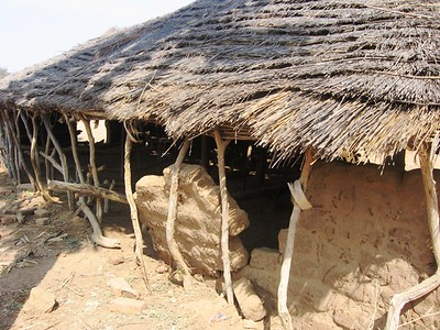 The church is built in a beautiful traditional style, but it is in need of serious repair.
