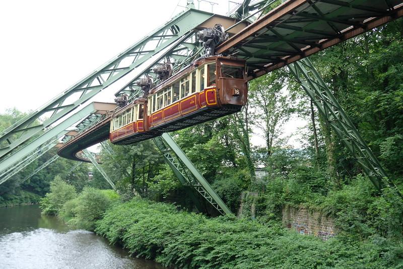 Wuppertal Schwebebahn, more pictures in gallery below
