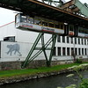 Wuppertal Schwebebahn, this where the elephant jumped out from the train and was not hurt , so it returned to the circus