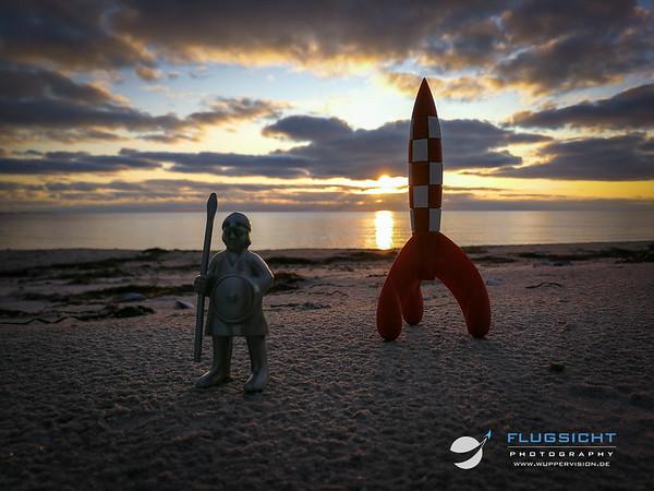 September 2019: Rocket Launching Test-Site near Lumsas, Denmark.