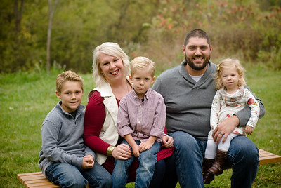Wustman Family Fall 2017