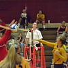 Wyandotte traveled to Melvindale, and defeated the host Cardinals on Tuesday night. The Bears won 25-8, 25-22, and 25-11. (MI Prep Zone photo gallery by RYAN DICKEY)