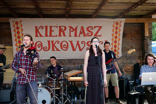 Kiermasz Bojkowski  Bieszczady Zespół Oreada ©Agata Katafiasz-Matysiak