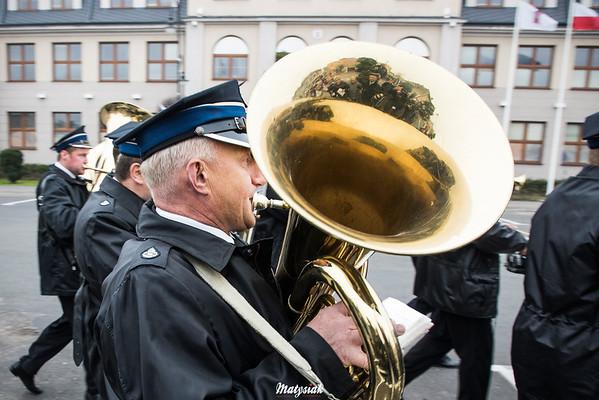 Obchody 100 rocznicy odzyskania niepodległości przez Polskę 11.11.2018, Plac im. Józefa Piłsudskiego w Mszczonowie ©Agata i Mateusz Matysiak