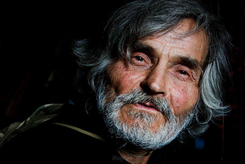 Antek Ciombor - bieszczadnik, poeta, gawędziarz ©Agata i Mateusz Matysiak