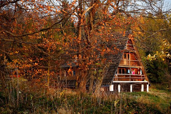 Chata Socjologa jesiennie