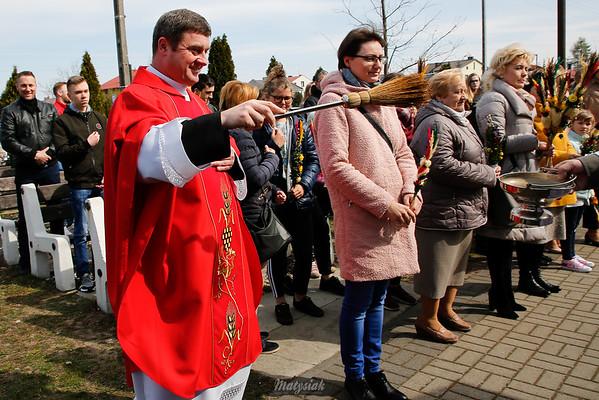 Niedziela Palmowa Parafia Św. Ojca Pio Mszczonów ©Agata Katafiasz-Matysiak