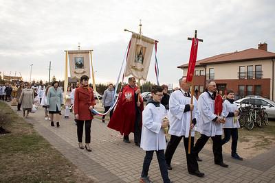Procesja rezurekcyjna Wielkanoc  ©Agata Katafiasz-Matysiak