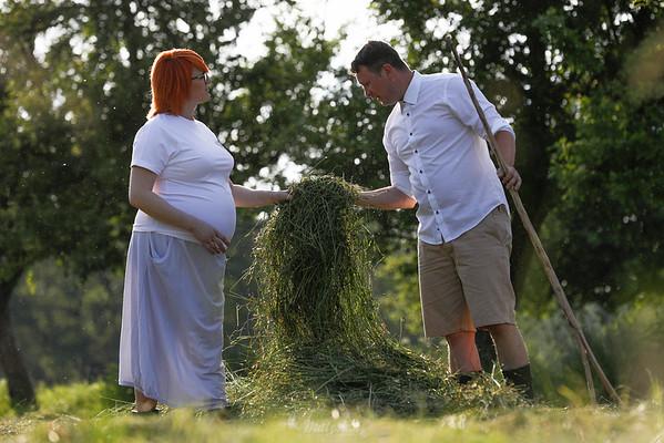 Milena i Tomek sesja ciążowa ©Agata i Mateusz Matysiak